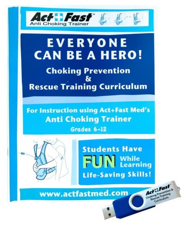Act+Fast Choking Rescue & Prevention Training Curriculum Grades 6-12